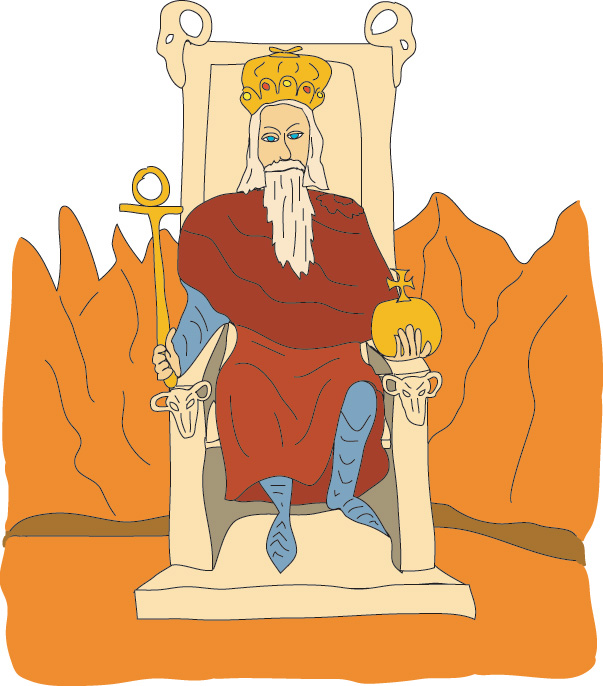 #4 The Emperor - Georgie's Tarot