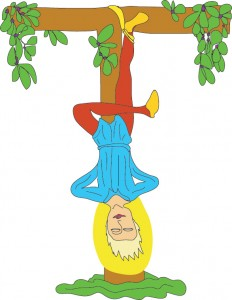 12 - The Hanged Man from Georgie's Tarot