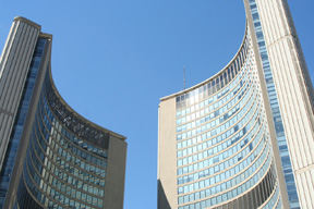 Toronto City Hall photo by Georgianna Boehnke