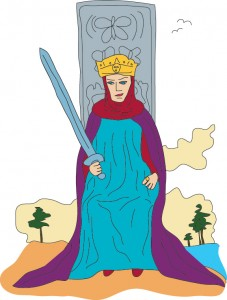 The King of Swords from Georgie's Tarot