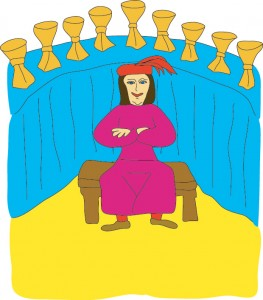 9 of Cups from Georgie's Tarot