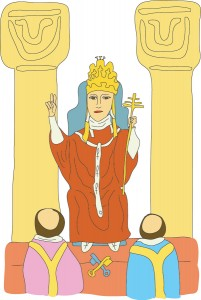 #5 The Hierophant from Georgie's Tarot