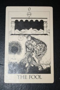 #0 The Fool from Tarot of Initiation by Emmett Brennan
