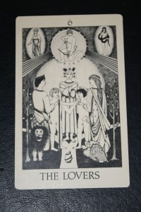 #6 The Lovers from Tarot of Initiation by Emmett Brennan