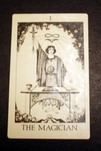 #1 The Magician from Tarot of Initiation by Emmett Brennan