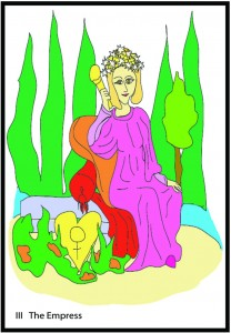 #3 The Empress from Georgie's Tarot