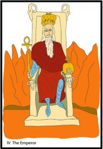 #4 The Emperor from Georgie's Tarot