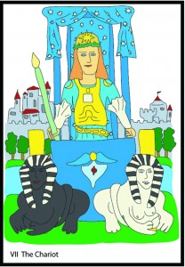 #7 The Chariot from Georgie's Tarot