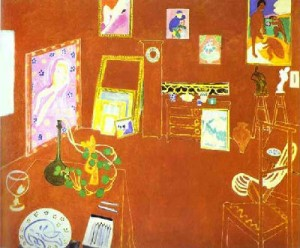 Atelier Rouge by Henri Matisse