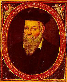 Nostradamus, portrait by his son Cesar