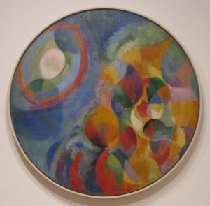 Simultaneous Contrasts Sun and Moon by Robert Delaunay 1912-13