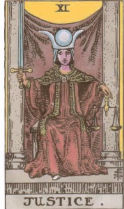 The High Priestess in Justice's Clothing