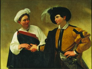 'Fortuneteller' by Caravaggio