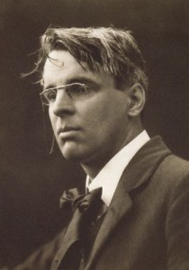 William Butler Yeats photographed by George Charles Beresford