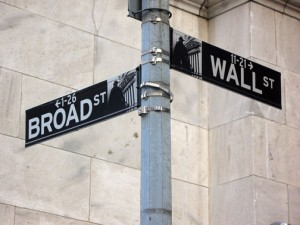 Wall Street at Broad Street
