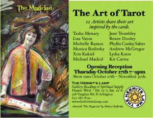 The Art of Tarot at The Hermit's Lamp