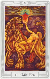 #11 Lust from the Thoth Tarot
