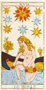 #17 The Star from the Tarot of Marseille
