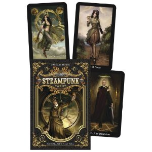 The Steampunk Tarot by Barbara Moore and Aly Fell