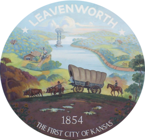 Seal for the City of Leavenworth, Kansas