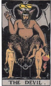 Mercury in Capricorn, the Magician dressing in the Devil's Clothing