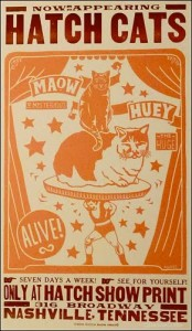 Hatch Cats Hatch Show Print