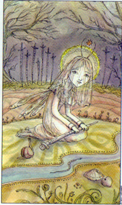 10 of Swords from the Joie de Vivre Tarot by Paulina Cassidy