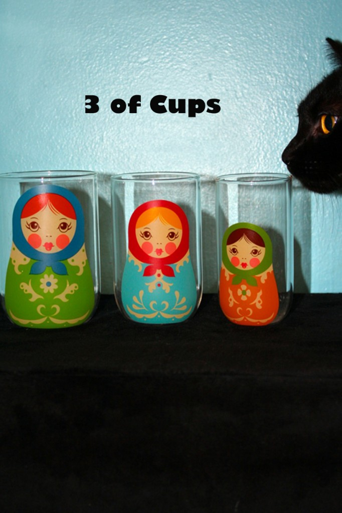 3 of Cups - Georgie's House Tarot