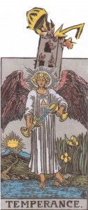Mars in Sagittarius - Tower Strikes Behind the Temperance Angel