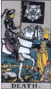 Saturn in Scorpio, or the World riding Death's horse