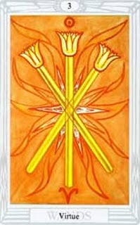 Thoth Tarot - 3 of Wands