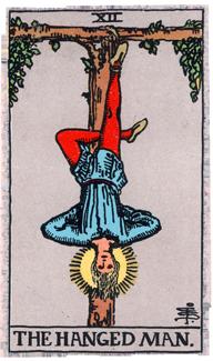 #12 Hanged Man - Rider Waite Smith Tarot