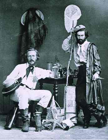 Ernst Haeckel and von Miclucho-Maclay_1866