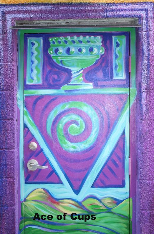 Graffiti Ace of Cups - Toronto Graffiti Tarot (WIP)