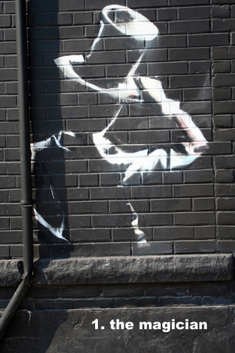 #1 The Magician - Graffiti Tarot