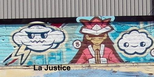 Justice - graffiti - #8