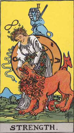 Jupiter in Leo - The Wheel of Fortune Spins Strength