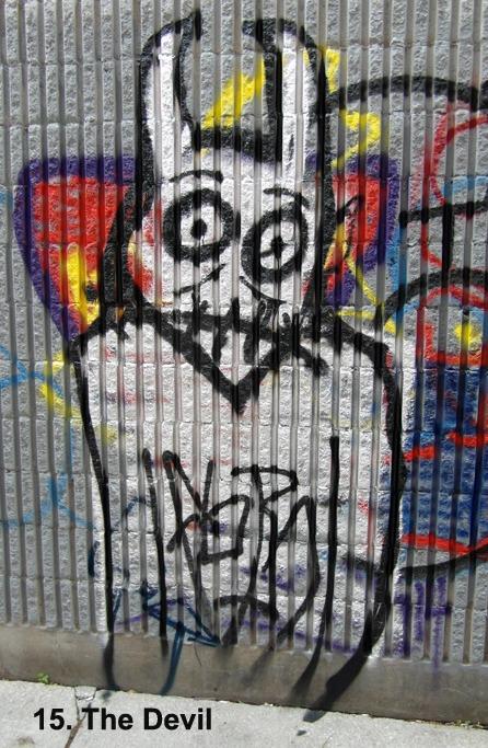 #15 - The Devil - Toronto Graffiti Tarot