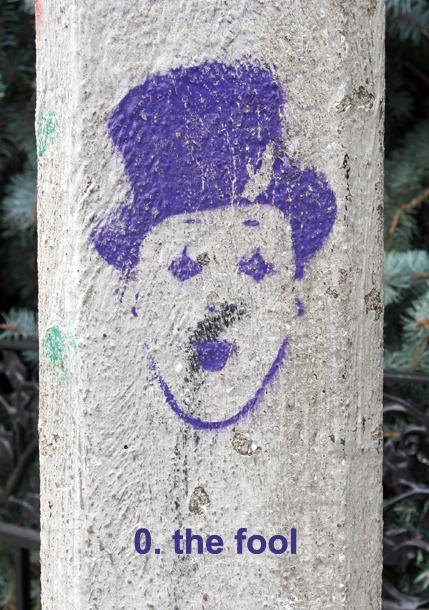 #0 the Fool, Toronto Graffiti Tarot