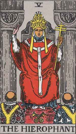 #5 The Hierophant - RWS