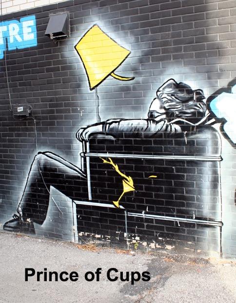 Prince of Cups - Toronto Graffiti Tarot