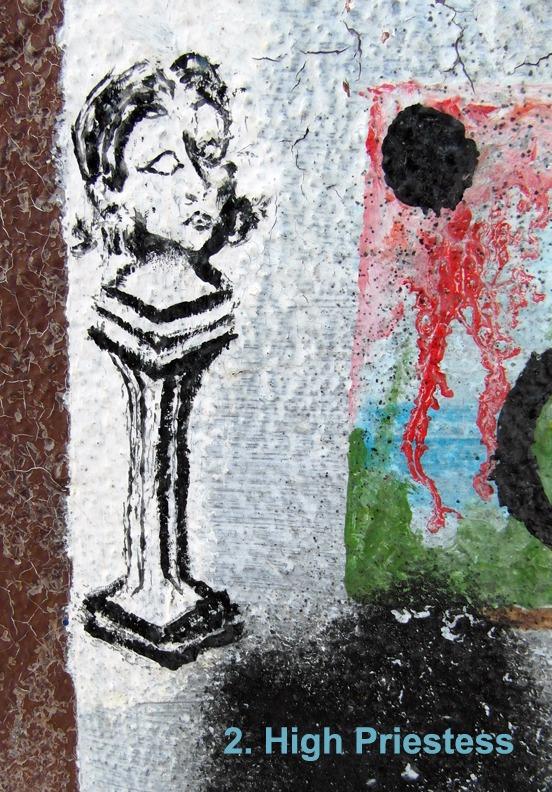 #2 The High Priestess - Toronto Graffiti Tarot