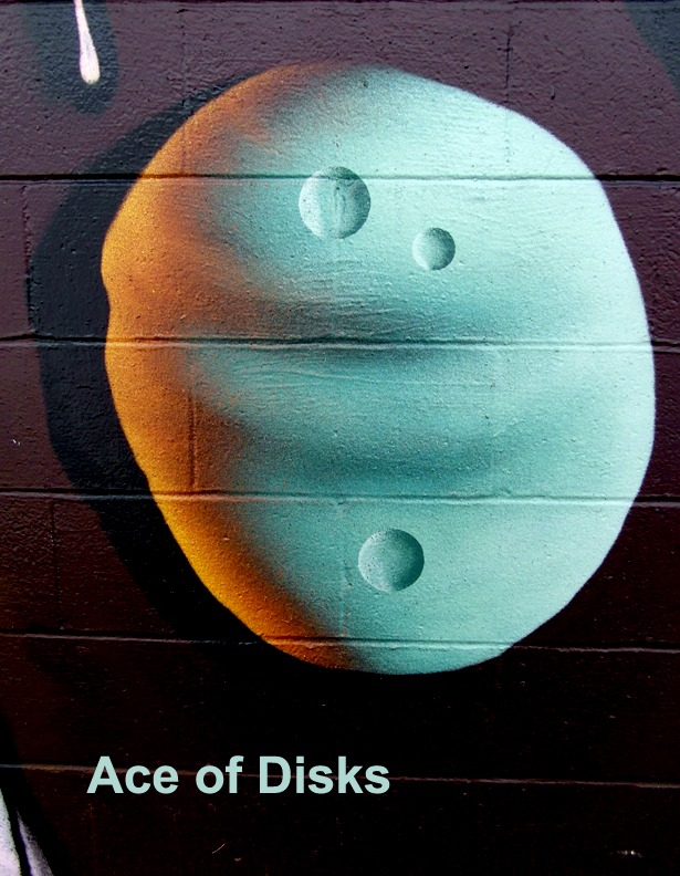 AceDisks - Toronto Graffiti Tarot