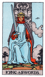 King of Swords - Rider Waite Smith Tarot