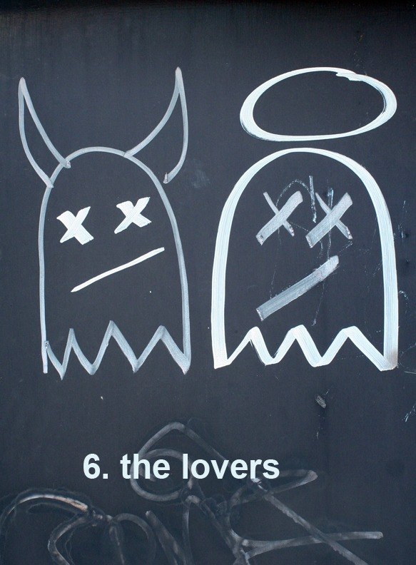 #6 The Lovers - Toronto Graffiti Tarot