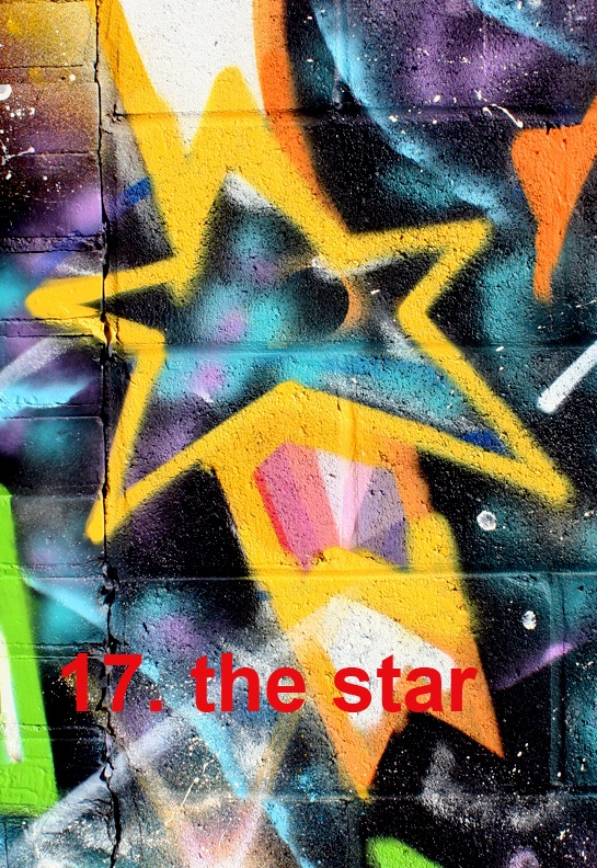 #17 The Star - Toronto Graffiti Tarot