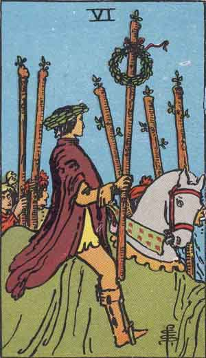 6 of Wands - Rider Waite Smith Tarot