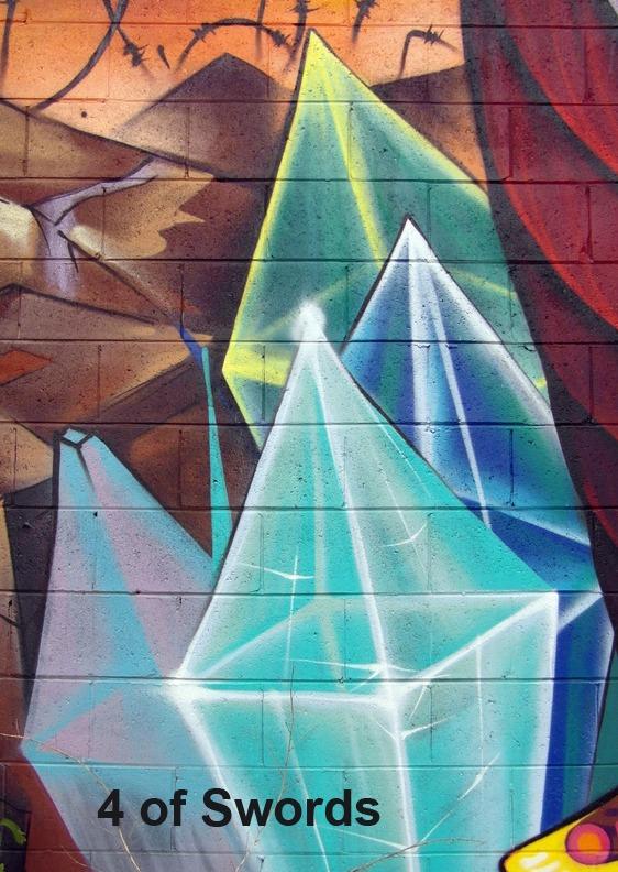 4 of Swords - Toronto Graffiti Tarot