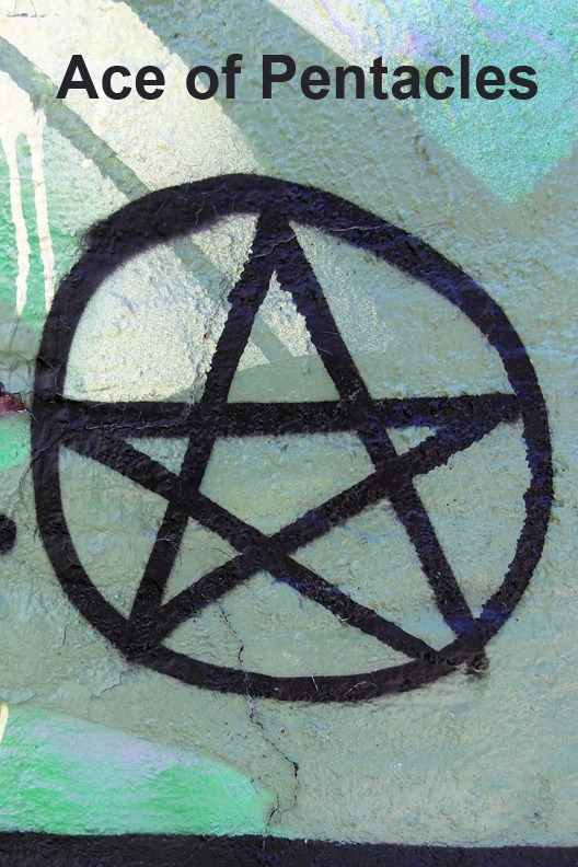 Ace of Pentacles - Toronto Graffiti Tarot