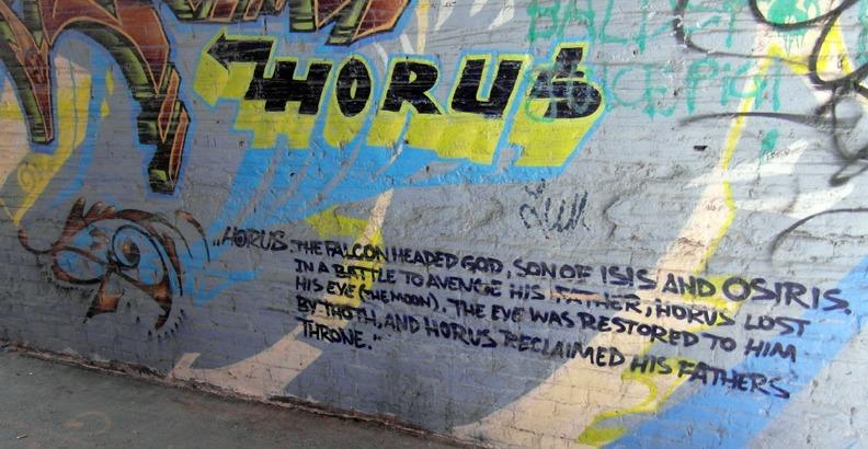 Horus - mythology on the streets